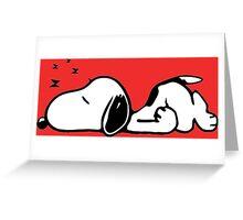 Snoopy 3 Greeting Card