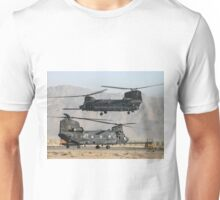 US Army Chinook MH-47D pair Unisex T-Shirt