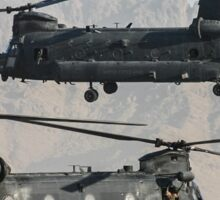 US Army Chinook MH-47D pair Sticker