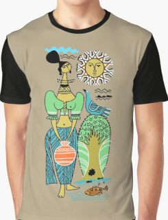Sri Lanka Scene Graphic T-Shirt
