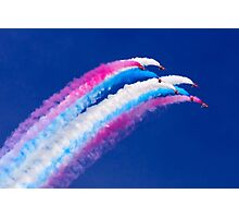 Red Arrows Roll Photographic Print