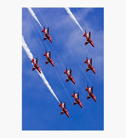 Red Arrows Dive Photographic Print