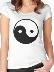 Yin And Yang Women's Fitted Scoop T-Shirt