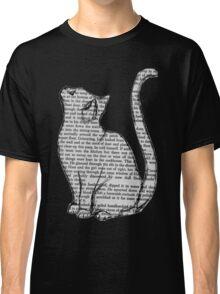 Book Cat Classic T-Shirt