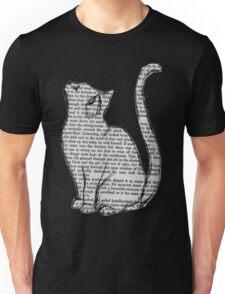 Book Cat Unisex T-Shirt