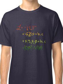 "Universe Lagragian. ""j"" Classic T-Shirt"
