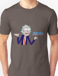 Rick and Morty for Bernie Sanders Shirt and apparel T-Shirt