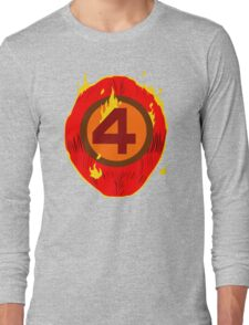LAZY COSPLAY: Fantastic Four's Johnny Storm Long Sleeve T-Shirt