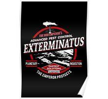 Exterminatus - Advanced pest control Poster
