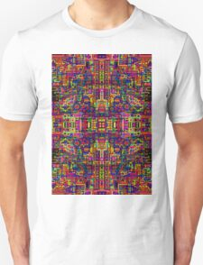Psychedelic Abstract colourful work 256 T-Shirt
