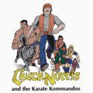 Chuck Norris and the Karate Kommandos - FullTeam - Black Font by DGArt