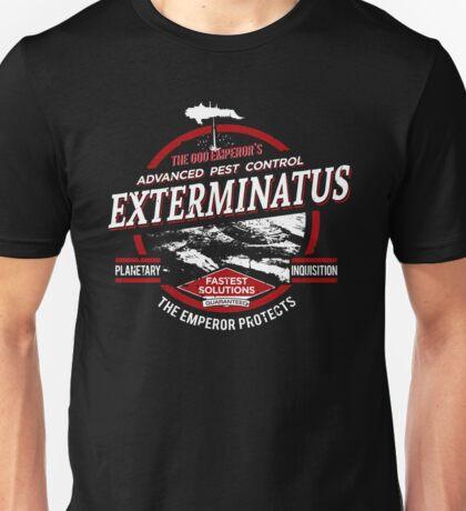 Exterminatus - Advanced pest control - Damaged Unisex T-Shirt
