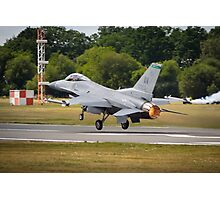 F-16 Take Off Photographic Print