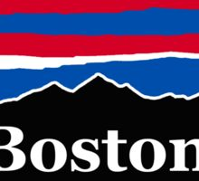 Boston Red White and Blue Sticker