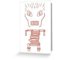 spring man Greeting Card