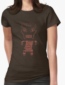 spring man Womens Fitted T-Shirt