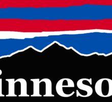 Minnesota Red White and Blue Sticker