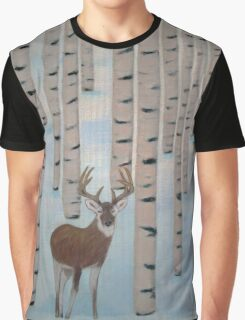 Winter Birch  Graphic T-Shirt