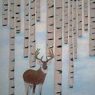 Winter Birch  by maggie326