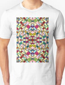 Psychedelic Abstract colourful work 200 T-Shirt