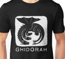 Woodcut Ghidorah Unisex T-Shirt