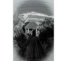 south cliff Scarbrough Photographic Print