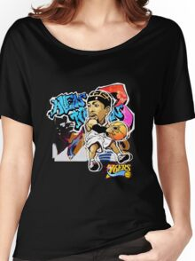 Allen Iverson Graffity Women's Relaxed Fit T-Shirt