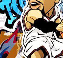 Allen Iverson Graffity Sticker