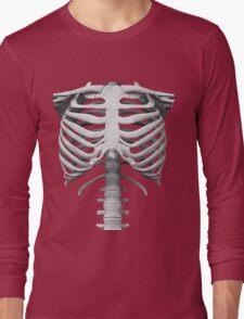 Anatomy white bones skeleton Long Sleeve T-Shirt