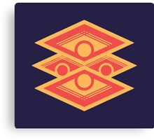 The Sigil of the Burning Dawn Emblem Canvas Print