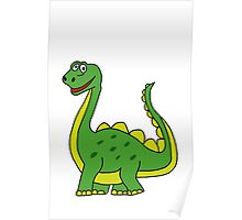 Happy Dinosaur  Poster