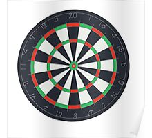 The Board Dart Poster