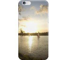 Sandy lane sail boats iPhone Case/Skin