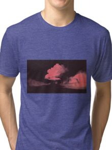 Clouds and Snow Below Tri-blend T-Shirt