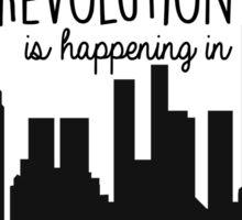 Revolution in NYC Sticker
