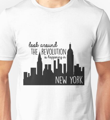 Revolution in NYC Unisex T-Shirt