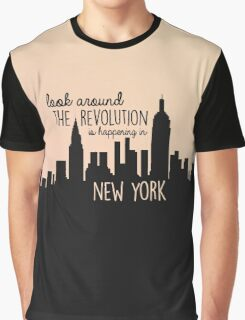 Revolution in NYC Graphic T-Shirt