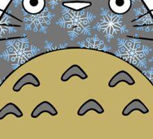 Totoro Christmas Sticker