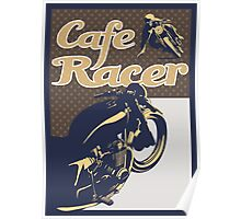 Cafe Racer retro style Poster