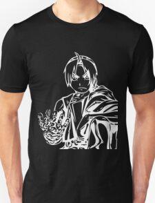 Edward from the Anime/Manga Fullmetal Alchemist White Vector Illustration  Unisex T-Shirt