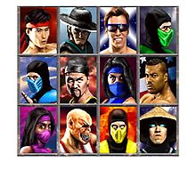 Mortal Kombat 2 Character Select by darksilly