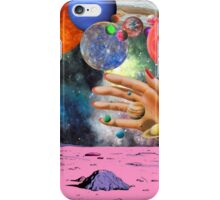 Psychedelic space. iPhone Case/Skin