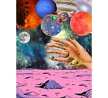 Psychedelic space. Photographic Print