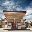 Mojave Desert Gas Station by Graham Gilmore
