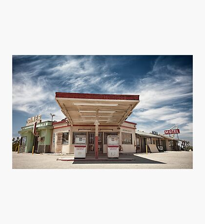 Mojave Desert Gas Station Photographic Print