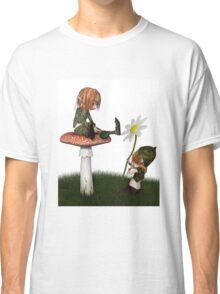 Goblin Valentine's Day Flower Gift Classic T-Shirt
