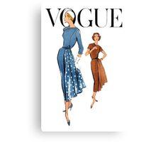 Vogue 2 Canvas Print
