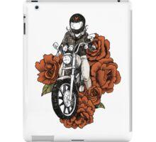 Valentine - Ride into your Heart - Women Who Ride  iPad Case/Skin