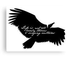 Singing Vultures Canvas Print
