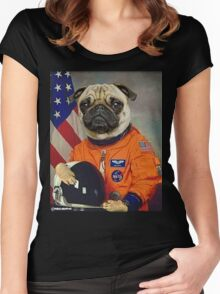 Astropug Women's Fitted Scoop T-Shirt